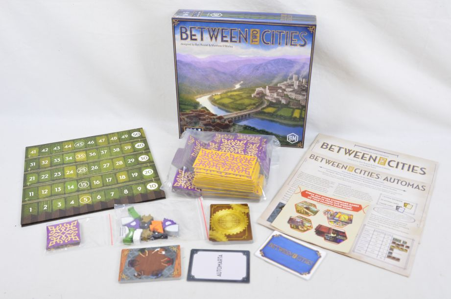 Between Two Cities Strategy Board Game By Stonemaier Games 1