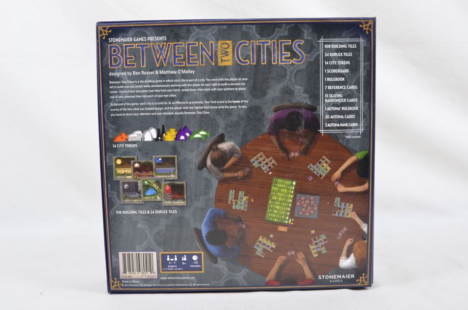 Between Two Cities Strategy Board Game By Stonemaier Games 7