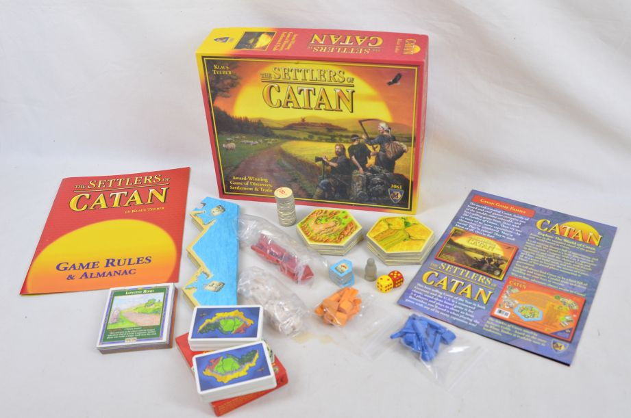 The Settlers Of Catan 3061 Strategy Board Game By Mayfair Games Inc