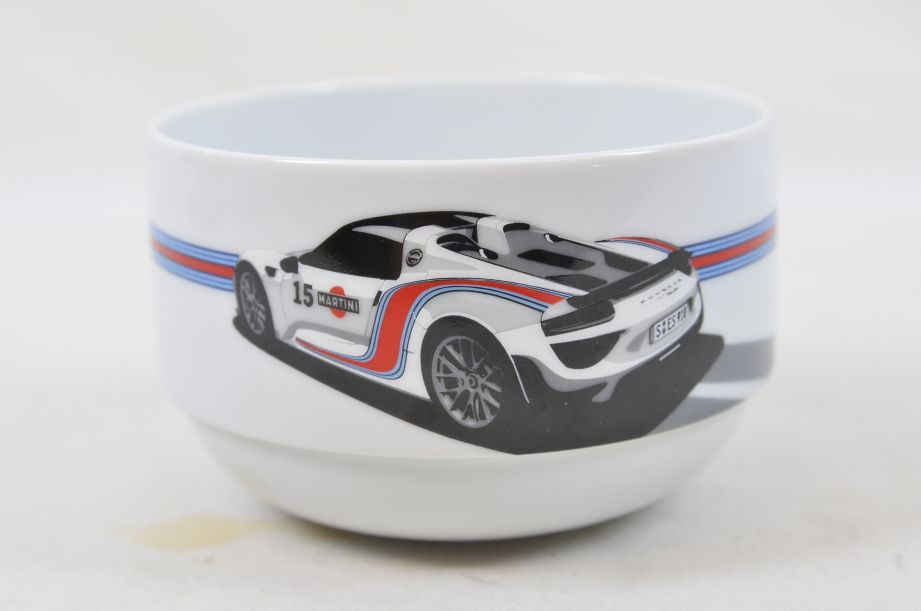 Porsche Drivers Selection Two Cereal Bowls 15 Martini Racing WAP0500700F 8