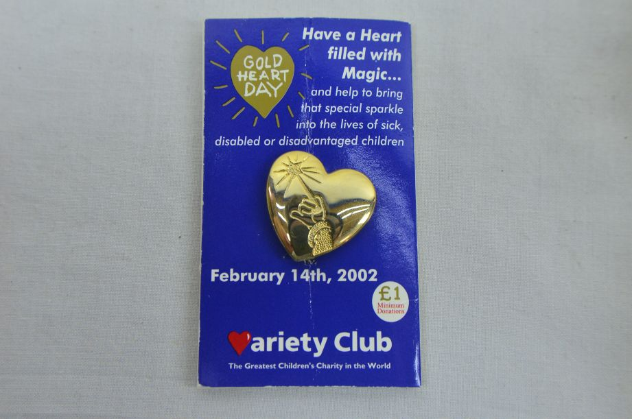 Variety Club Gold Hearts 1991 To 2000 And 2002 2
