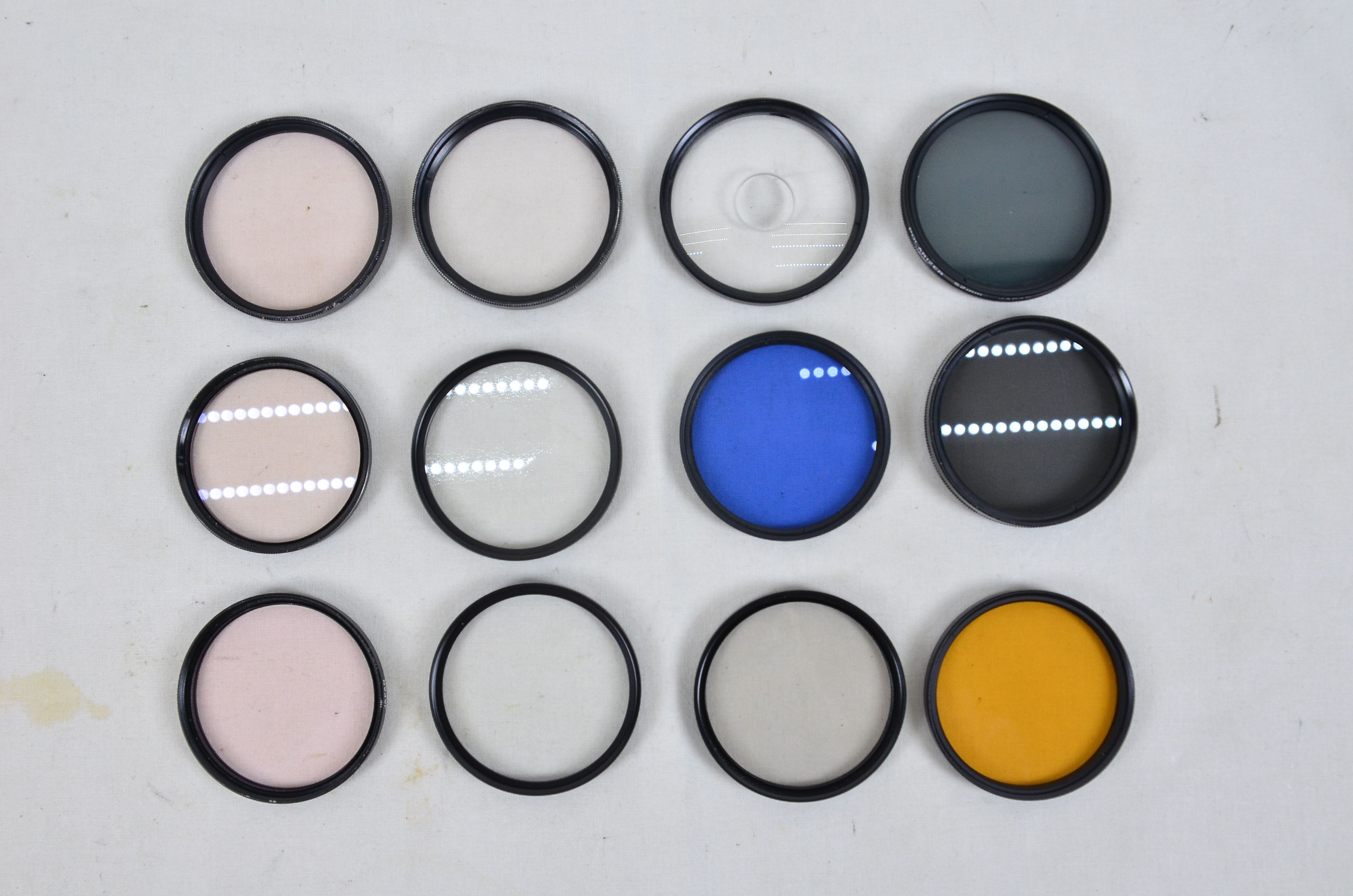 Assorted Photographic Filters 1 49mm And 11 52mm Special Effects Filters 1
