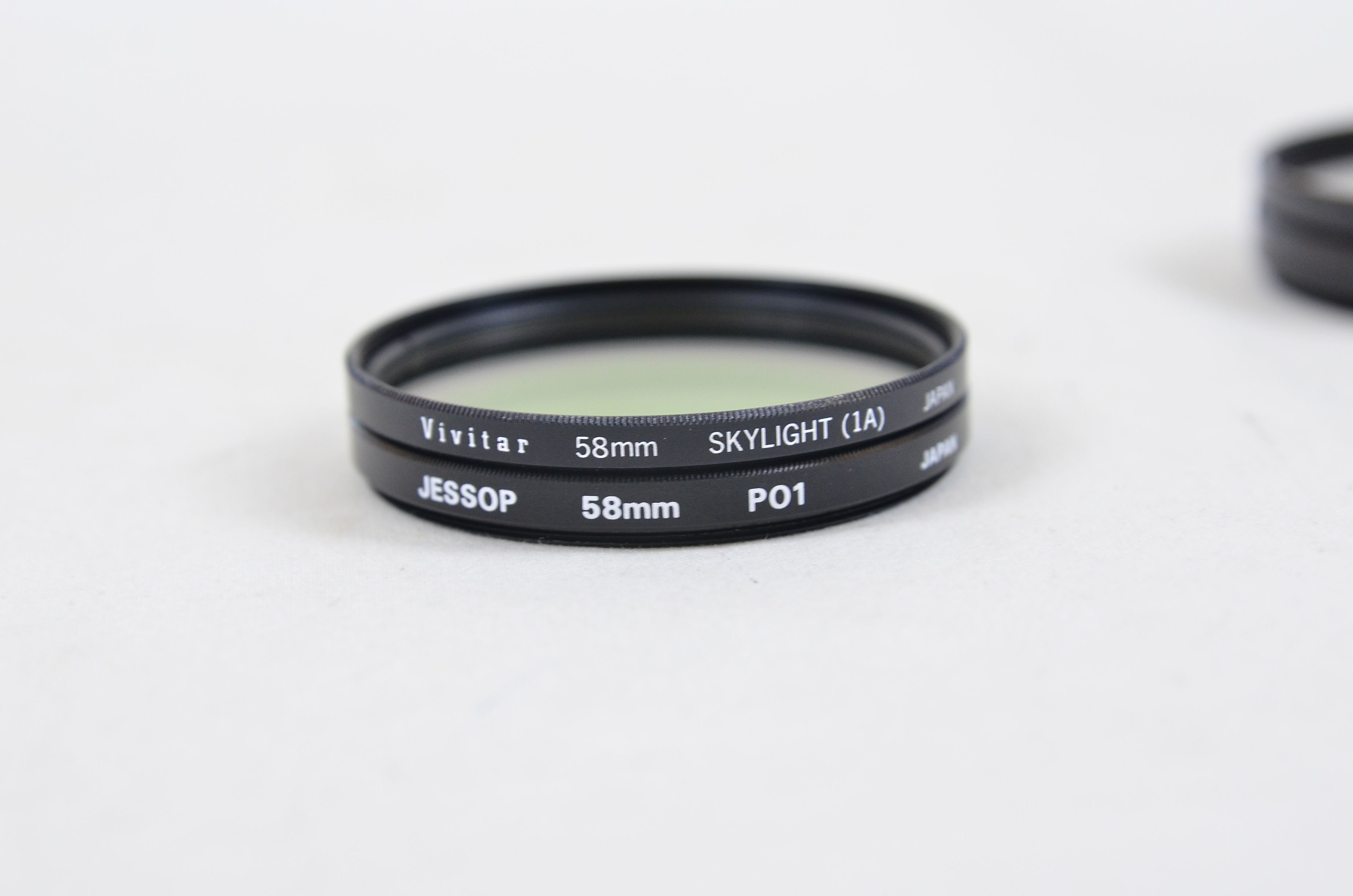 Assorted Filters 3x 55mm 2x 58mm 2x 62mm 1x 67mm Special Effects Filters Thumbnail 3