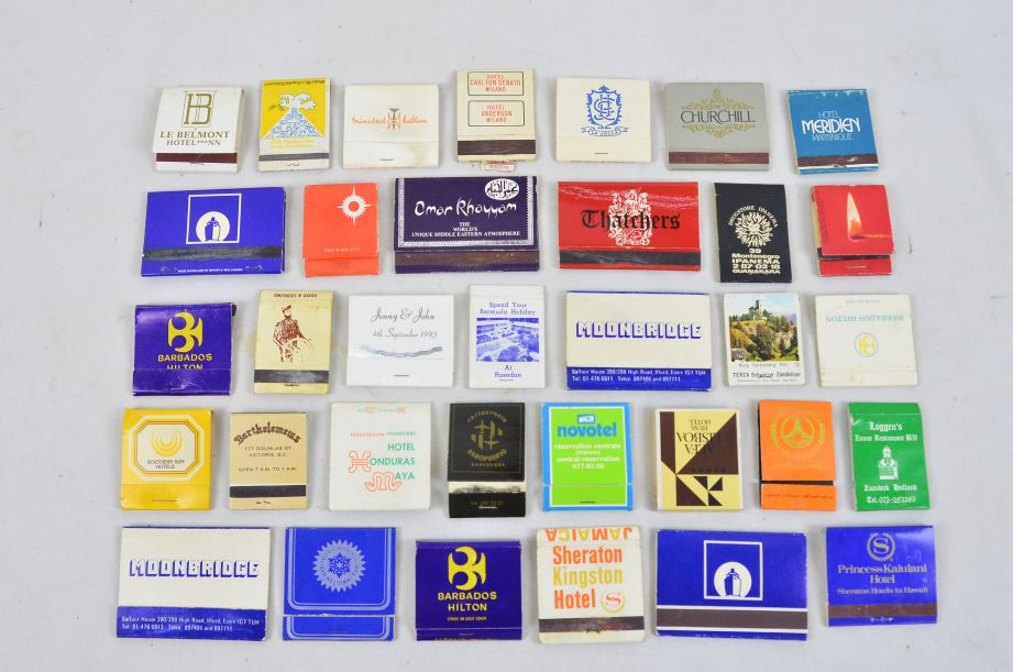 Assorted Vintage Collectors 45 Matchboxes And 130 Matchbooks With Matches 2