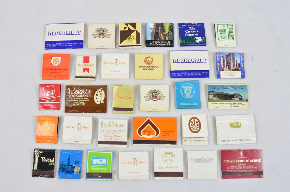 Assorted Vintage Collectors 45 Matchboxes And 130 Matchbooks With Matches 3