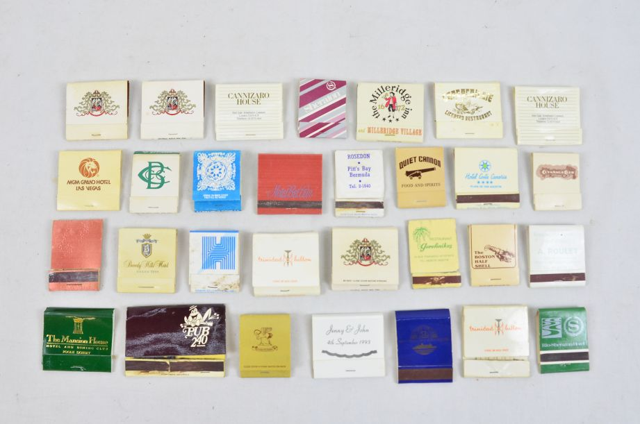 Assorted Vintage Collectors 45 Matchboxes And 130 Matchbooks With Matches 4