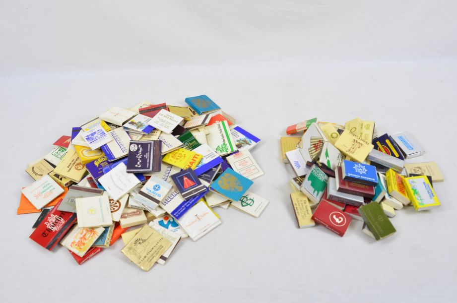 Assorted Vintage Collectors 45 Matchboxes And 130 Matchbooks With Matches 6