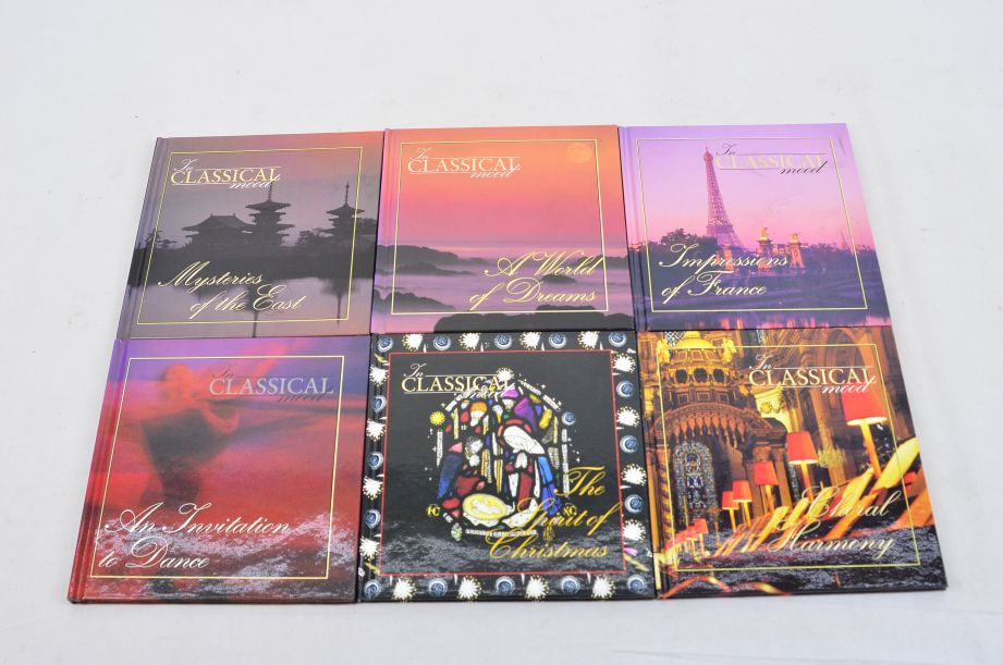 The Classical Mood CD Box Set Collection 48 Cd's With Booklets 12