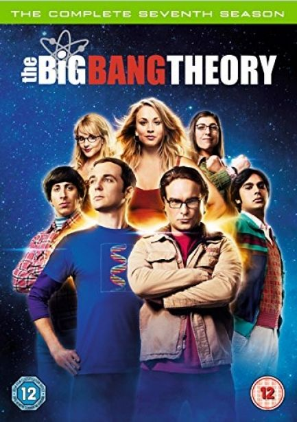 Big Bang Theory - Series 7 - Complete (DVD, 2014, 3-Disc Set, Box Set) 1