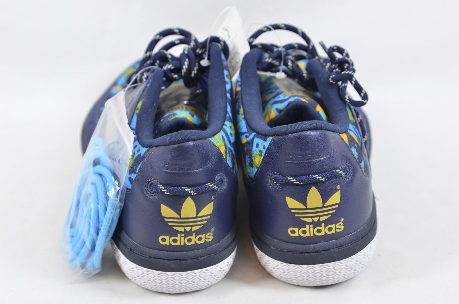 Adidas / WeSC Compas 2005 Blue Crayfish Party Shoe Trainers UK 11 EU 46 2