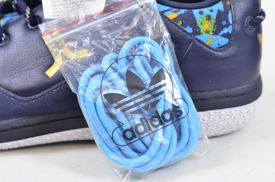 Adidas / WeSC Compas 2005 Blue Crayfish Party Shoe Trainers UK 11 EU 46 7