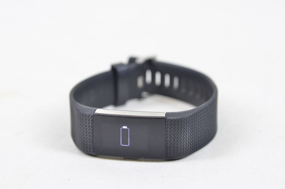 Fitbit Charge 2 Heart Rate Monitor & Fitness Tracking Wristband - Large - Black 7