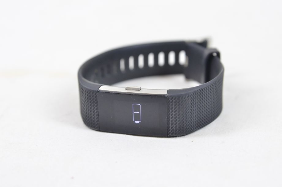 Fitbit Charge 2 Heart Rate Monitor & Fitness Tracking Wristband - Large - Black 8