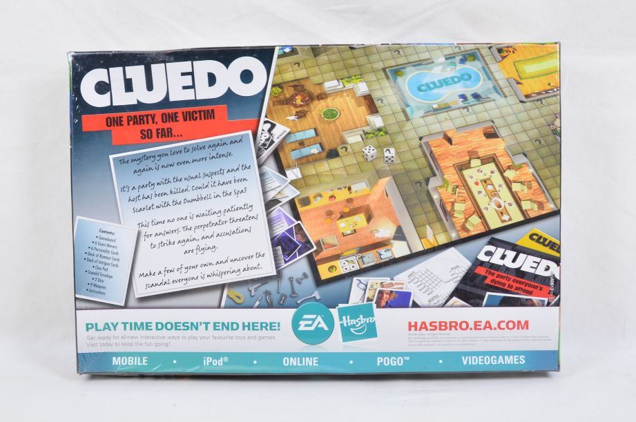 Cluedo Discover the Secrets Board Game by Parker 2008 2