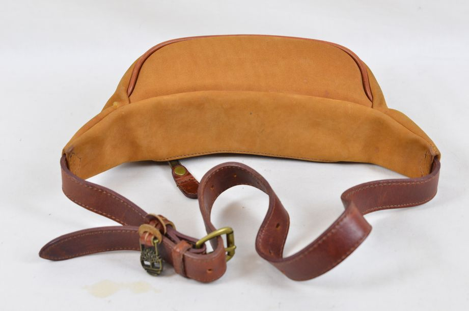 Timberland Suede Leather Waist Pack / Bum Bag Made in USA 2