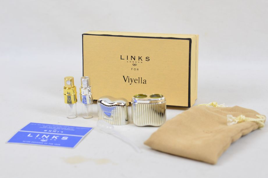 Links London for Viyella Silver Plated Double Perfume Atomiser