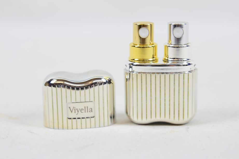 Links London for Viyella Silver Plated Double Perfume Atomiser 3