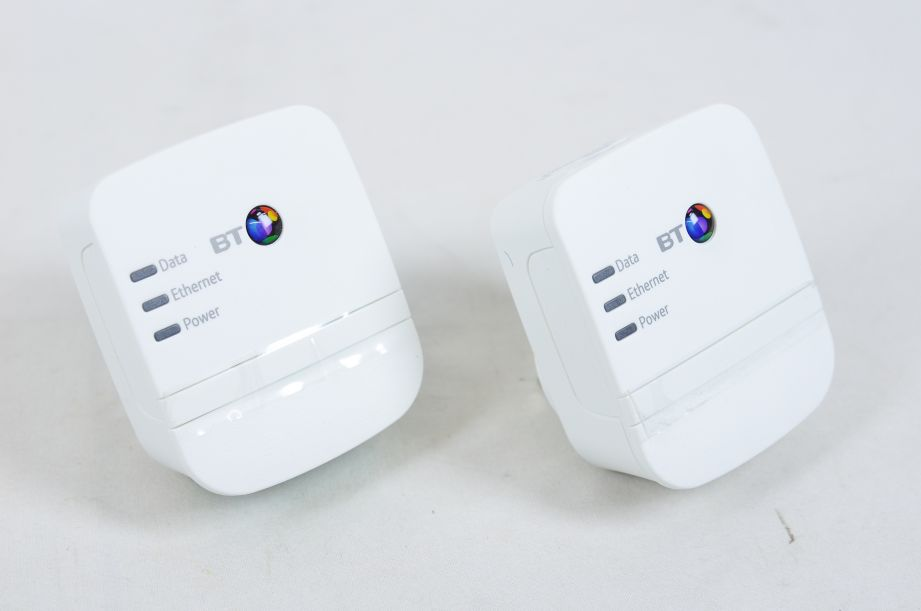BT Broadband Extender Flex 600 Kit Powerline Adapter 600mbps 2