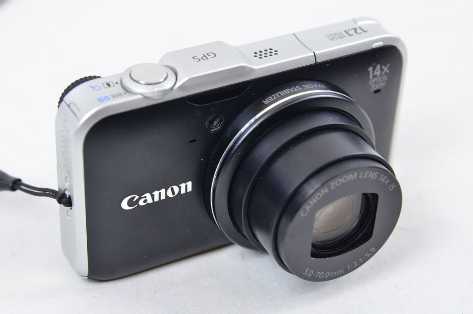 Canon PowerShot SX230 HS 12.1MP Digital Camera - Black + 2GB SD Card 2