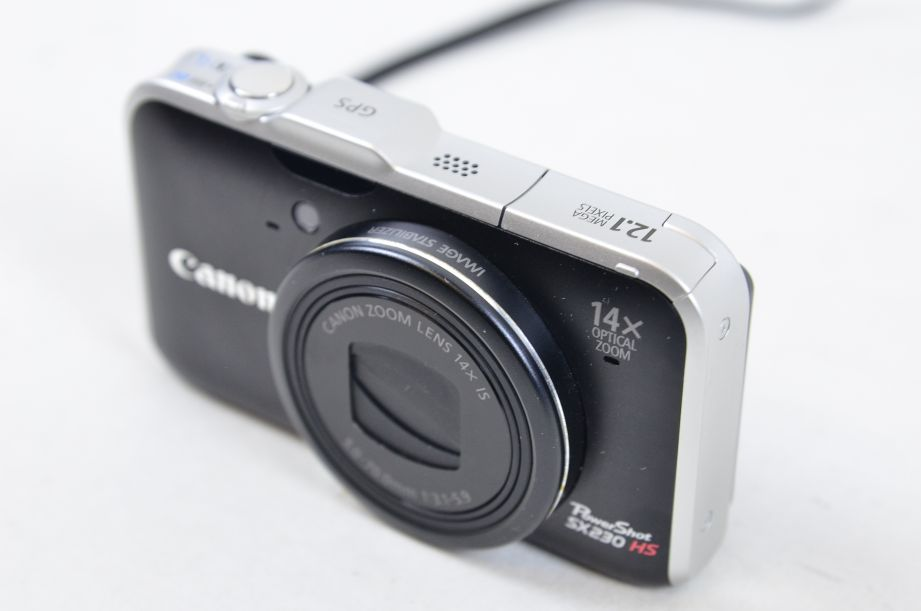 Canon PowerShot SX230 HS 12.1MP Digital Camera - Black + 2GB SD Card 3