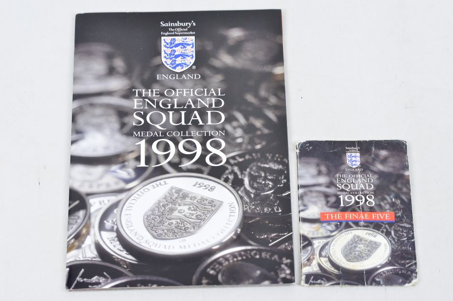 The Official England Squad Medal Collection 1998 FIFA World Cup + The Final Five 1