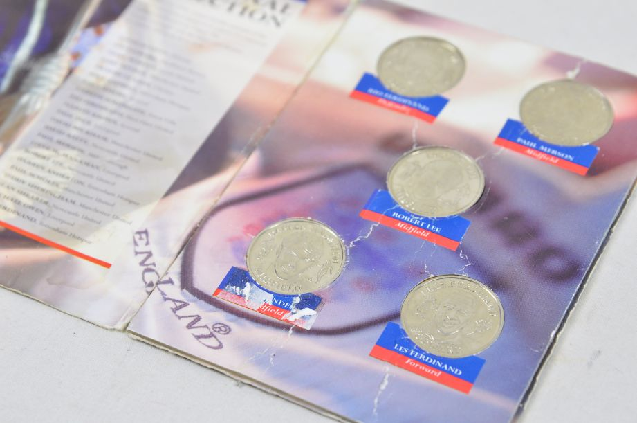 The Official England Squad Medal Collection 1998 FIFA World Cup + The Final Five 5
