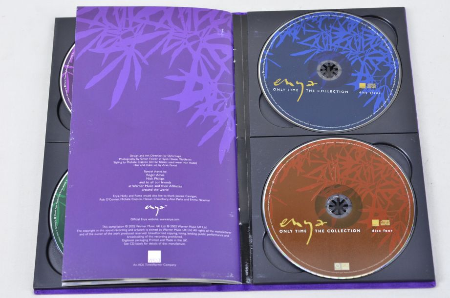 Enya - Only Time - The Collection (4 CD Box Set, 2002) 3