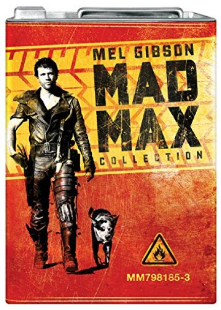Mad Max Trilogy Petrol Can Packaging (Blu-ray, 2013, 3-Disc Set, Box Set)