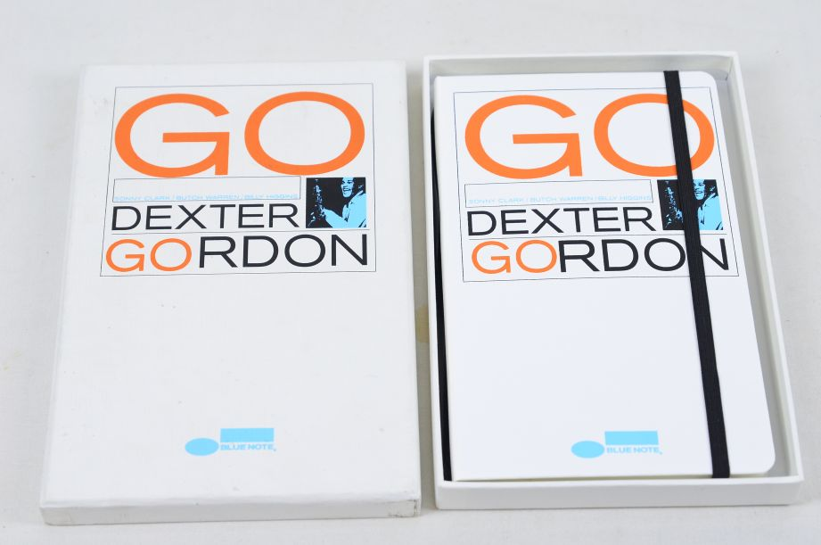 Moleskine Limited Edition Blue Note Go Dexter Gordon Ruled Notebook 1
