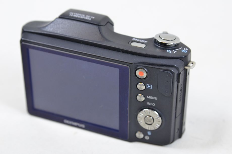 Olympus S Series SZ-14 14.0MP Digital Camera - Black 4