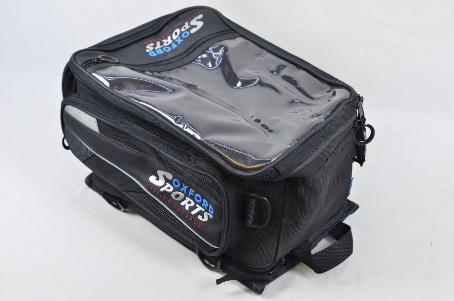 Oxford Sports Lifetime Luggage Quick Release Magnetic Motorcycle Tank Bag 2