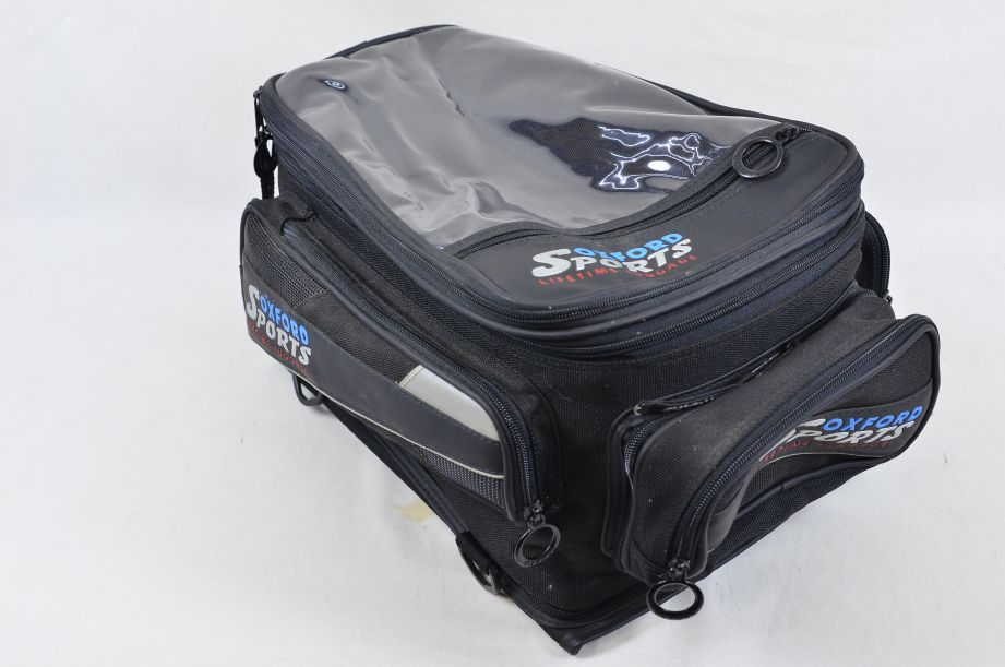Oxford Sports Lifetime Luggage Quick Release Magnetic Motorcycle Tank Bag 4