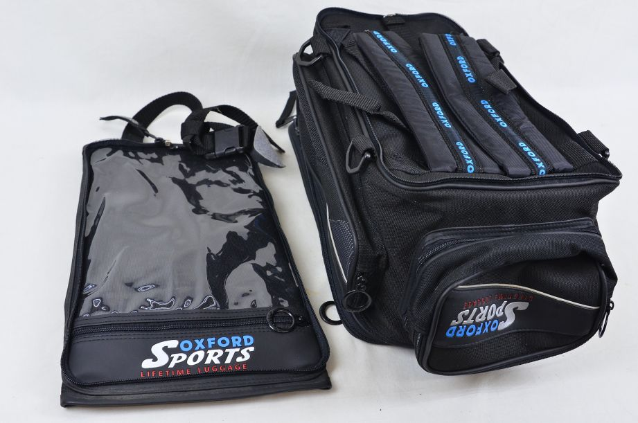 Oxford Sports Lifetime Luggage Quick Release Magnetic Motorcycle Tank Bag 8