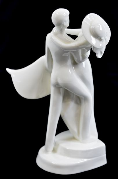 """Royal Doulton Images """"Over The Threshold"""" Wedding Figurine HN3274 4"""
