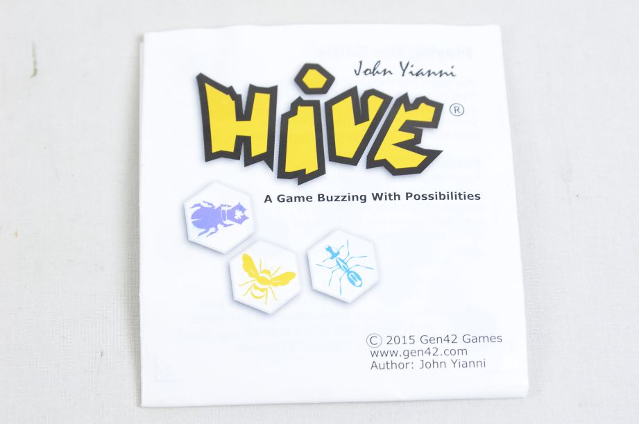 Hive - A Game Buzzing With Possibilities by John Yianni - Gen42 Games 3