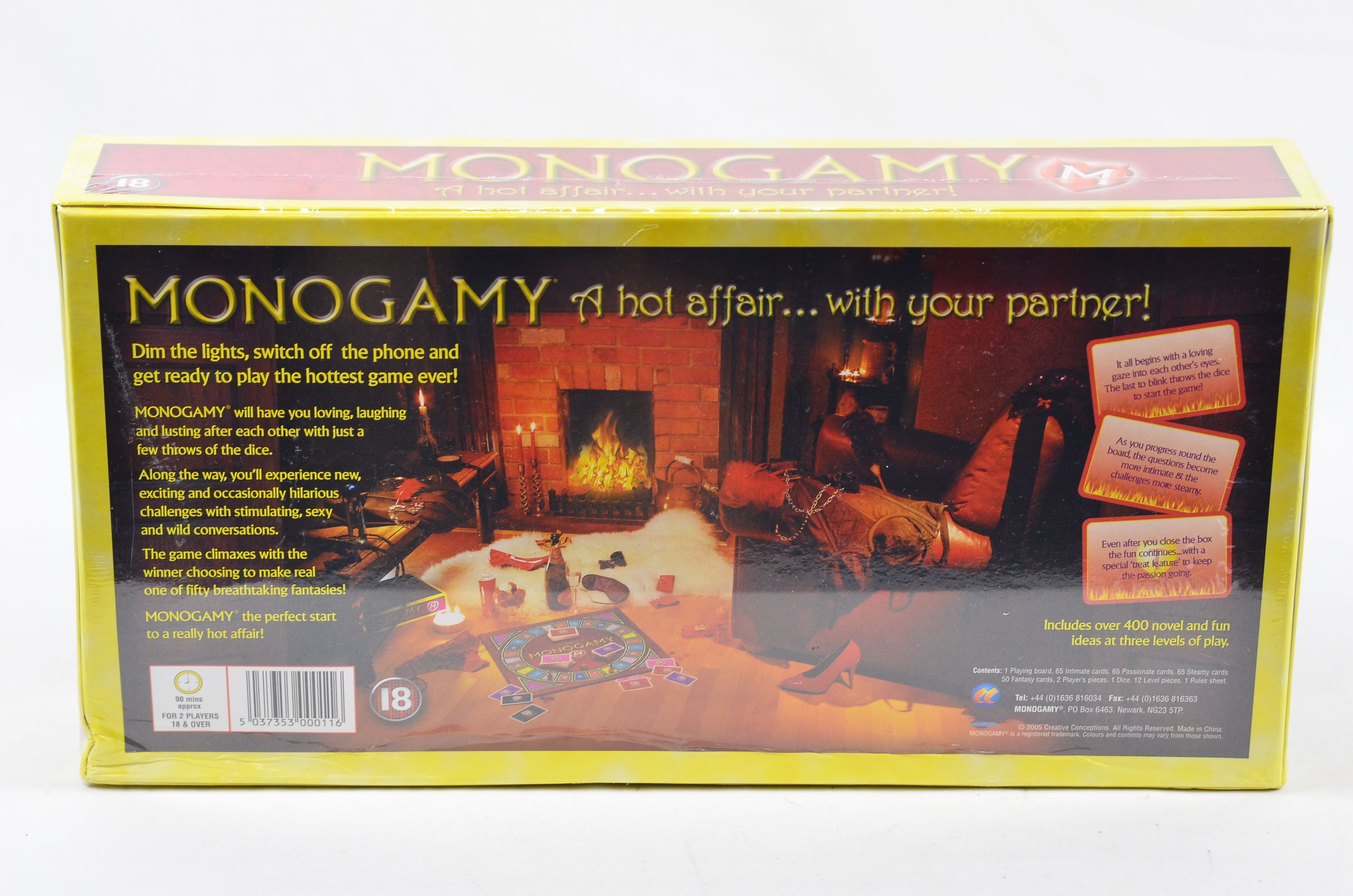 Details about Monogamy: A Hot Affair… With Your Partner, Adult Couples  Board Game