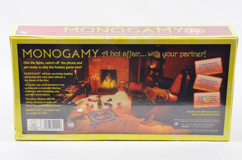 Monogamy: A Hot Affair… With Your Partner, Adult Couples Board Game 2