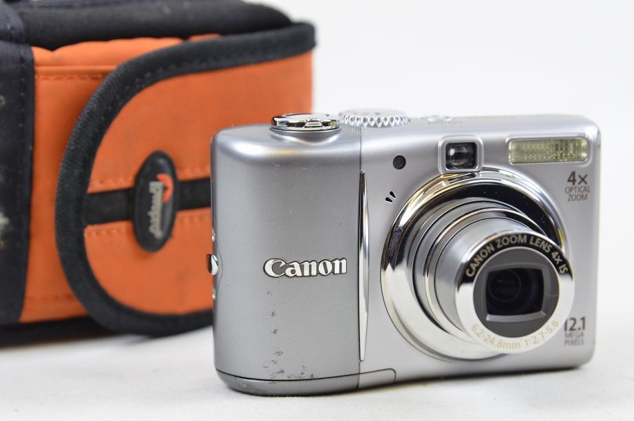 Canon PowerShot A1100 IS 12.1MP Digital Camera - Grey