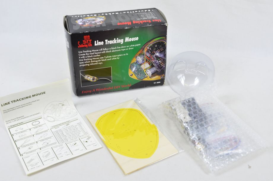 CIC DIY Line Tracking Mouse Soldering Kit 21-880