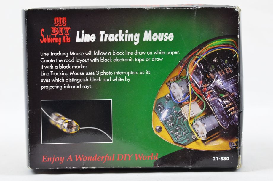 CIC DIY Line Tracking Mouse Soldering Kit 21-880 5