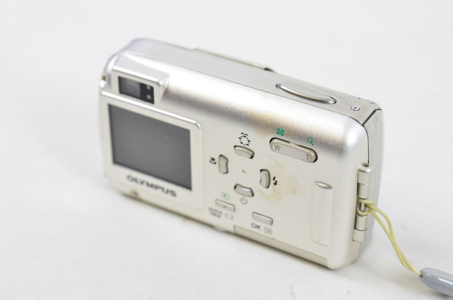 Olympus µ 400 Digital 4.0MP Digital Camera - Silver 4