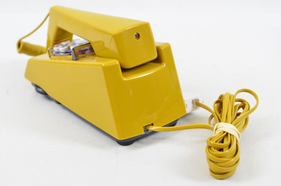 Wild & Wolf 1970s Style Trim Phone - Old Gold 5