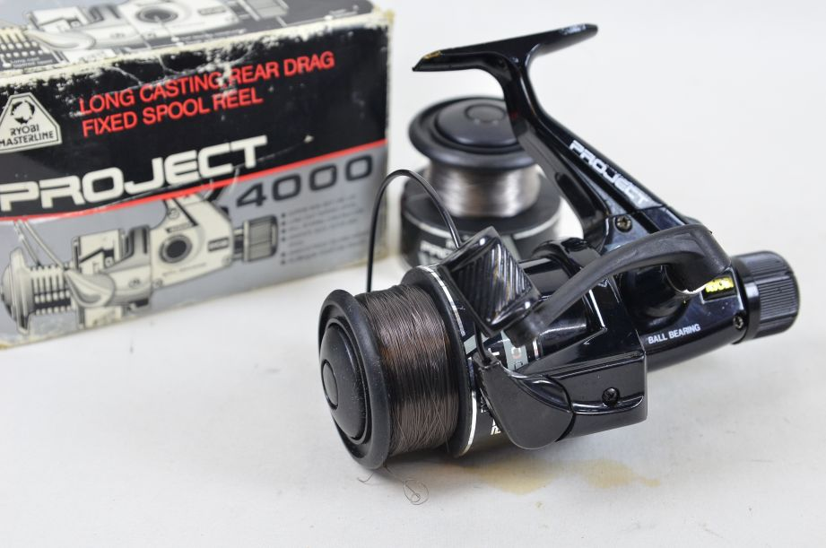 Ryobi Masterline Project 4000 Long Casting Rear Drag Fixed Spool Reel
