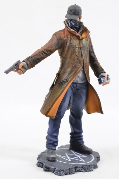Watch Dogs Aiden Pearce Ubicollectibles Figurine PVC Statue