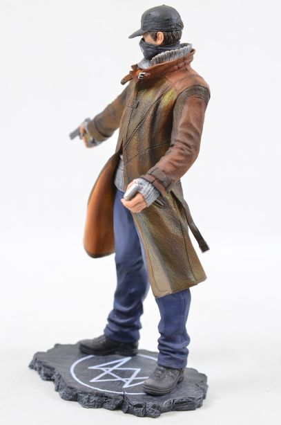 Watch Dogs Aiden Pearce Ubicollectibles Figurine PVC Statue 2