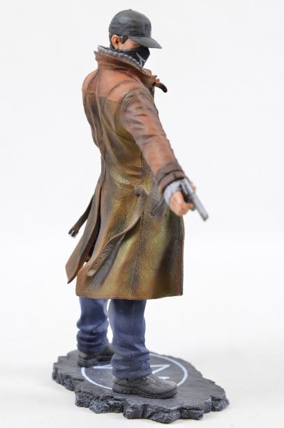 Watch Dogs Aiden Pearce Ubicollectibles Figurine PVC Statue 4