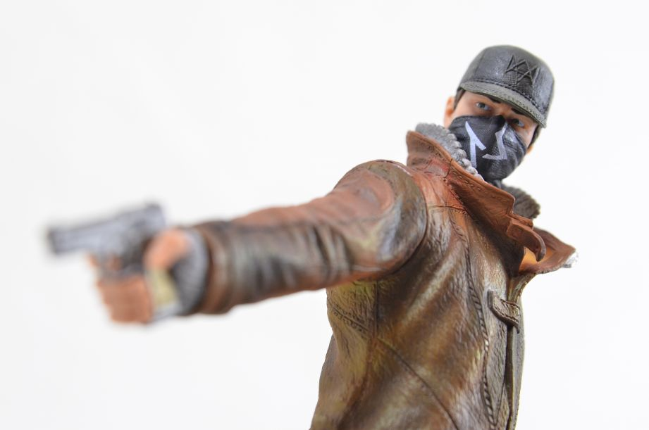 Watch Dogs Aiden Pearce Ubicollectibles Figurine PVC Statue 5