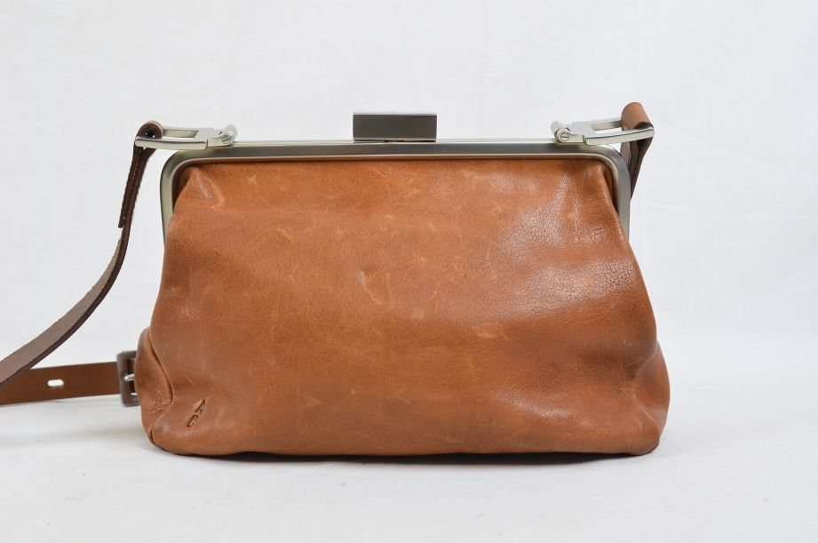 Ally Capellino Shirley Calvert Tan Leather Cross Body Handbag 1