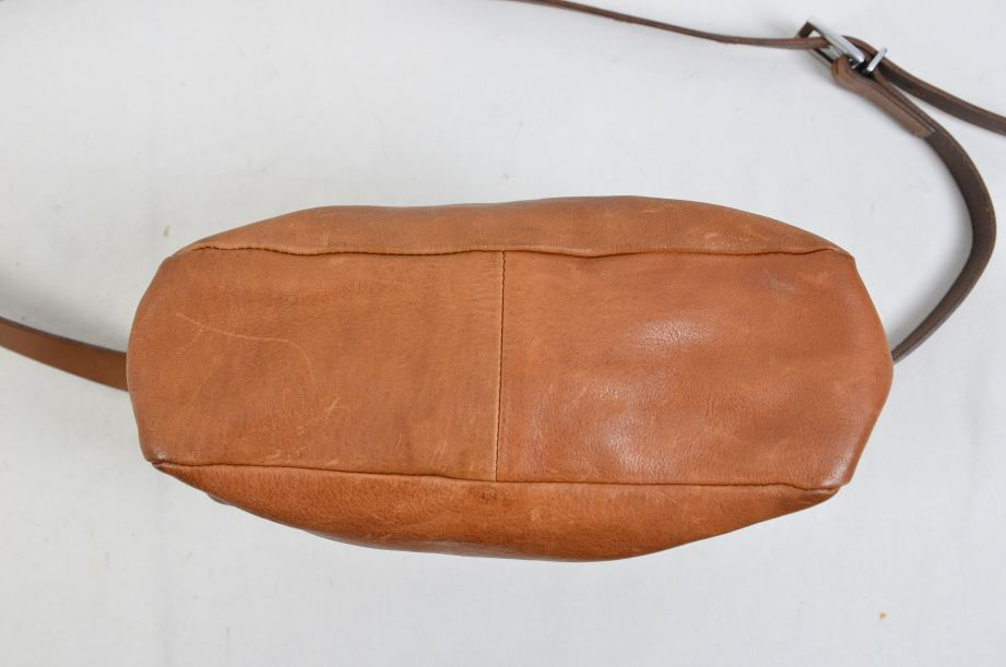 Ally Capellino Shirley Calvert Tan Leather Cross Body Handbag 6