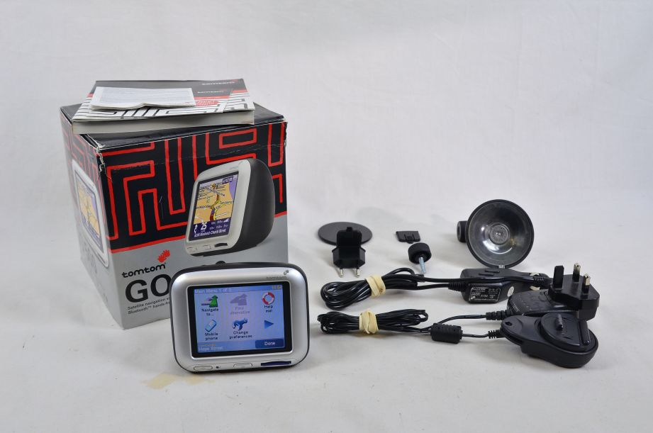 TomTom Go 500 4D00.500 Sat Nav GPS - Great Britain Map 1
